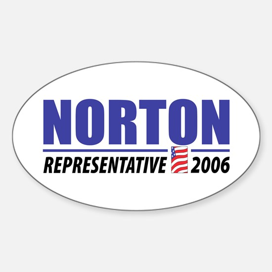 Norton 2006 Oval Decal