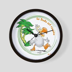 Dodo comes back Wall Clock