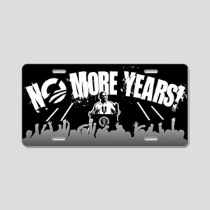 No More Years! Aluminum License Plate