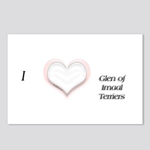 I heart Glen of Imaal Postcards (Package of 8)