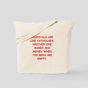 HOSPITAL Tote Bag