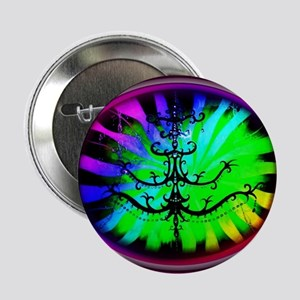 "Circle Rainbow Nania 2.25"" Button"