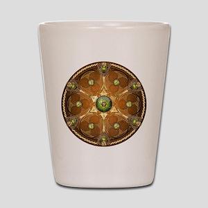 Celtic Shield - Green Chieftain Shot Glass
