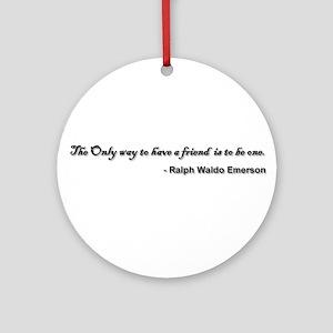 Emerson Ornament (Round)