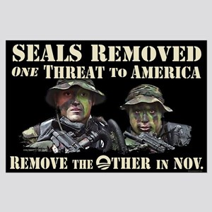 Seals Removed One Threat Large Poster