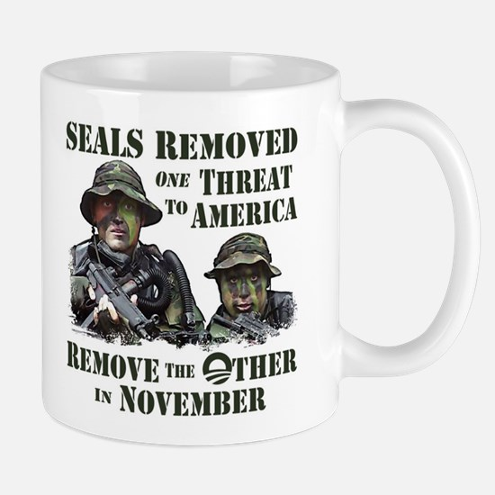 Seals Removed One Threat Mug