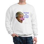 Bush Speaks Pig Latin Sweatshirt