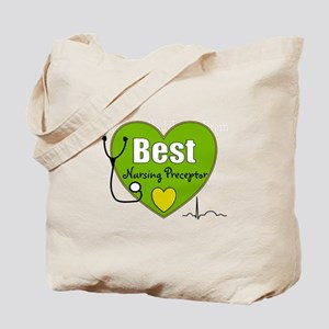 best nursing preceptor green Tote Bag