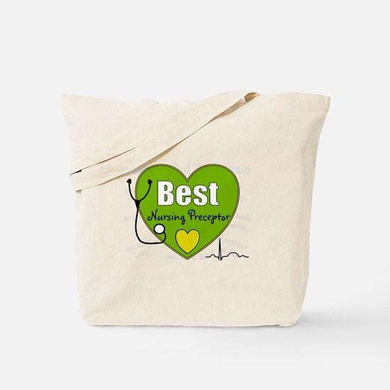 best nursing preceptor green.PNG Tote Bag