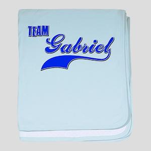 Team Gabriel baby blanket