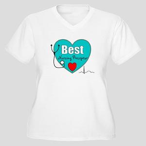 Best Nursing Preceptor blue Women's Plus Size