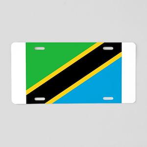 tanzania flag Aluminum License Plate