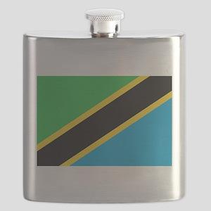 tanzania flag Flask