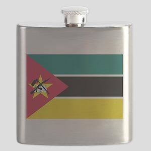 mozambique flag Flask