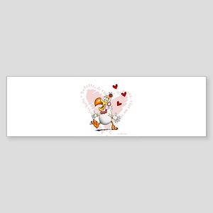 Dodo girl Bumper Sticker