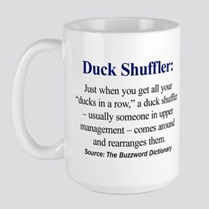 Duck Shuffler Large Mug