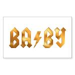 BA/BY Sticker (Rectangle 50 pk)