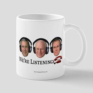 We're Listening Mug