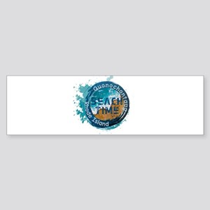Rhode Island - Quonochontaug Bumper Sticker
