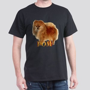 Pomeranian head dog art Dark T-Shirt
