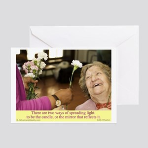 Spread Light Greeting Card