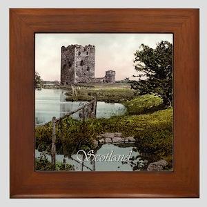 Scotland Threave Castle Framed Tile