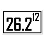 26212 Sticker (Rectangle 50 pk)