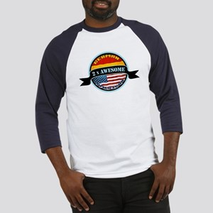 German American 2x Awesome Baseball Jersey