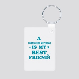 A Portuguese waterdog is my best friend Aluminum P