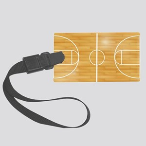 Basketball Court Large Luggage Tag