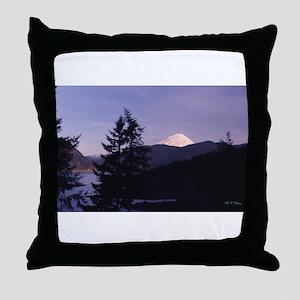 Mt. St. Helens Throw Pillow