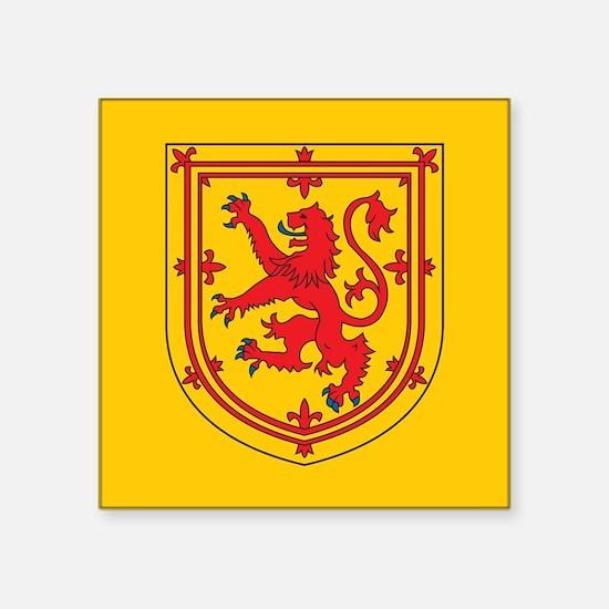 """Scotland Emblem Square Sticker 3"""" x 3"""""""