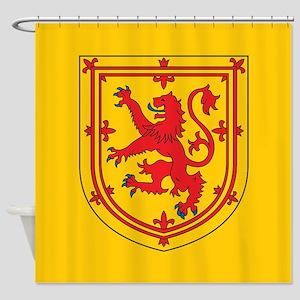 Scotland Emblem Shower Curtain