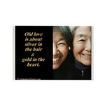 Old love Rectangle Magnet (10 pack)