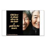 Old love Sticker (Rectangle 10 pk)