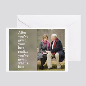 'Give your best' Greeting Card