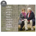 'Give your best' Puzzle
