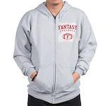 Fantasy Football (Simple) Zip Hoodie