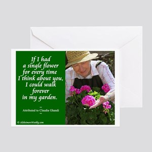 Think about you Greeting Card