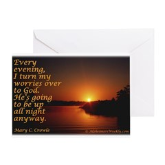 'Turn to God' Greeting Card
