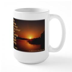 'Turn to God' Large Mug