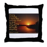 'Turn to God' Throw Pillow