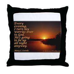'Turn to God' Throw Pillow