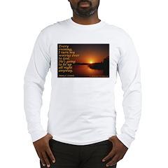 'Turn to God' Long Sleeve T-Shirt