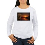 'Turn to God' Women's Long Sleeve T-Shirt