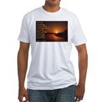 'Turn to God' Fitted T-Shirt