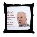 'Lessons ' Throw Pillow