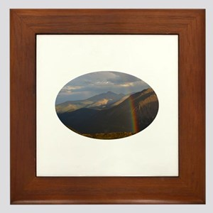 Rocky Mountain National Park Framed Tile