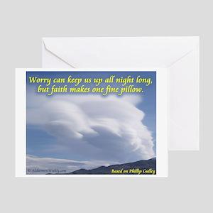 'Faith' Greeting Card