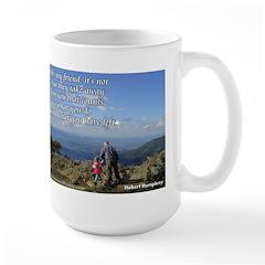 'What you do' Large Mug